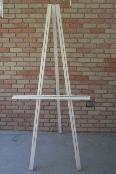 Build your easel the cheap way   Easel Plans