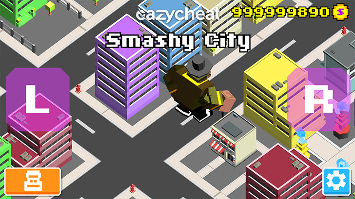 Smashy City Cheats