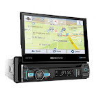 Soundstream VRN75HB 7 Touchscreen Single DIN w/ DVD CD/MP3 Car Stereo w/ GPS Navigation