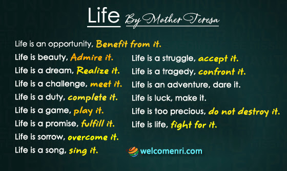 Mother Teresa Quotes मदर टरस अनमल वचन