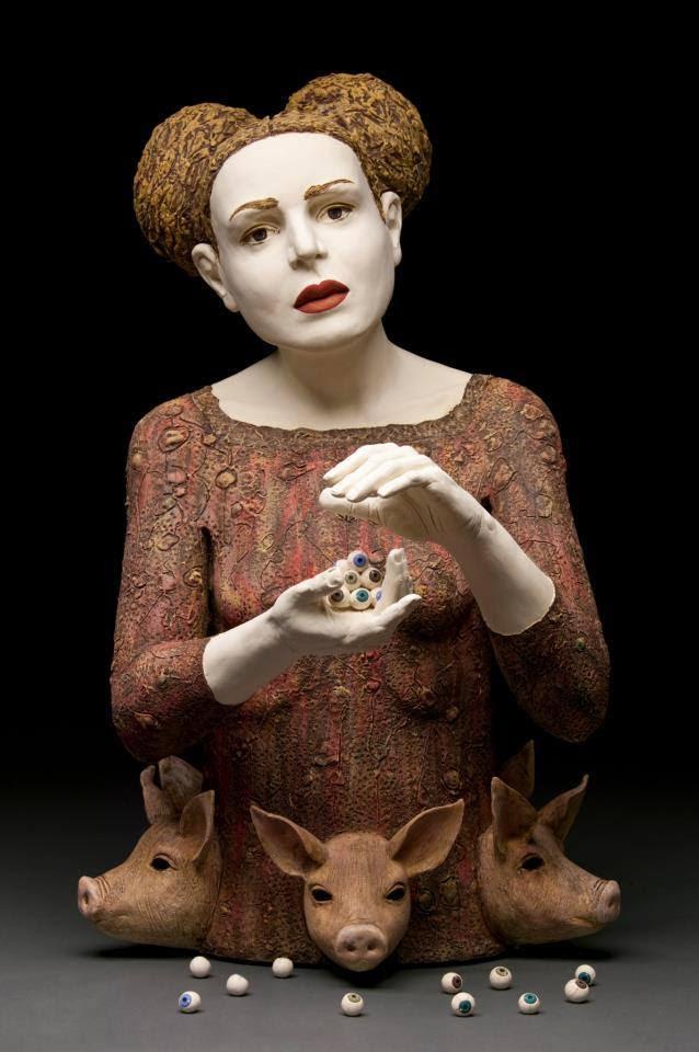 Kirsten Stingle - sculptures figuratives