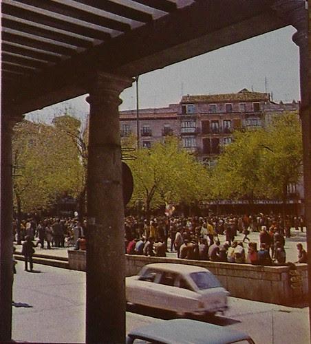 Zocodover en los años 60