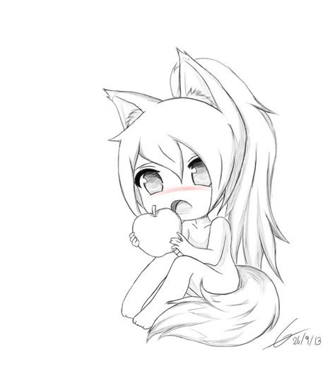 chibi fox drawings google search projects