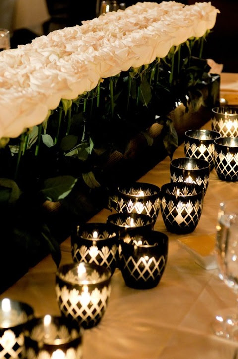 Black And White Table Decoration Ideas Black And White Table