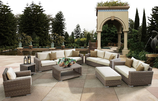 Deep Seating Wicker Patio Furniture Sets I Spacious Design!