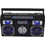 Studebaker - CD-RW/CD-R Boombox with AM/FM Radio - Black
