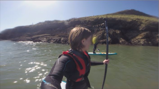 Year of Adventure: Stand Up Paddleboarding on the Gower peninsula