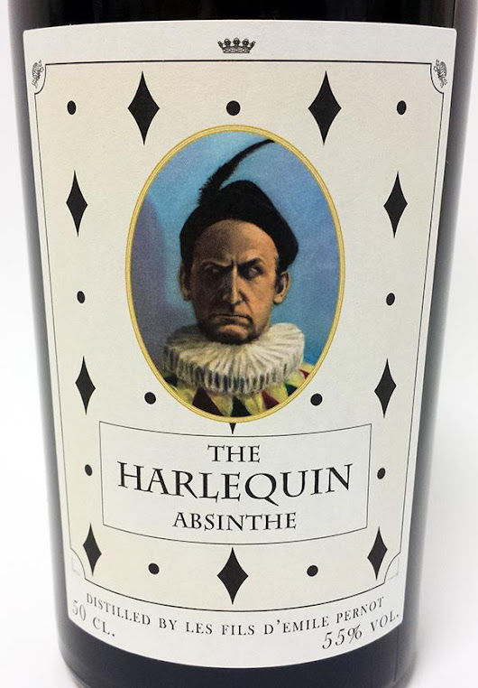 Absinthe.se - The Harlequin Absinthe - Review and tasting notes