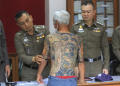 Tattoos lead Thai police to arrest Japanese gang member