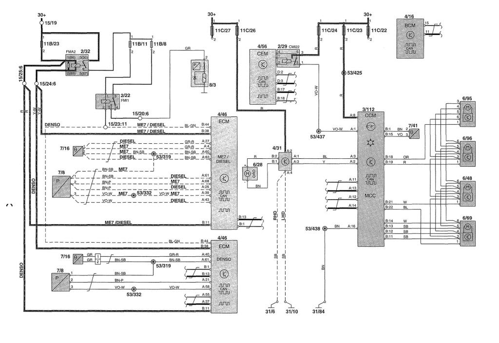 Diagram 2002 Volvo V70 Wiring Diagram Full Version Hd Quality Wiring Diagram Laty Diagram Editions Delpierre Fr