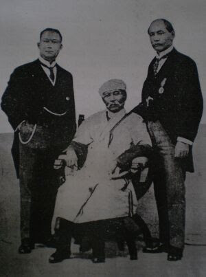 THE DELEGATES TO INDIA TO INTERVIEW LORD CHELMSFORD AND THE HON. E. MONTAGUE