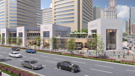 COPT shows off plans for 'Michigan Avenue-style' retail center downtown - Baltimore Business Journal