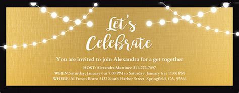 Free Cocktail Party Invitations & RSVP tracking   Evite