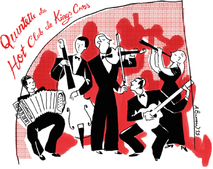 Alice Mary and the Kings Cross Hot Club | The Crazy Coqs