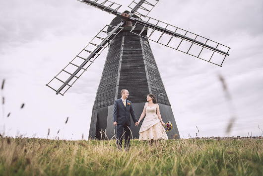 A Wedding With a Windmill - Neil W. Shaw Wedding Photographer Brighton