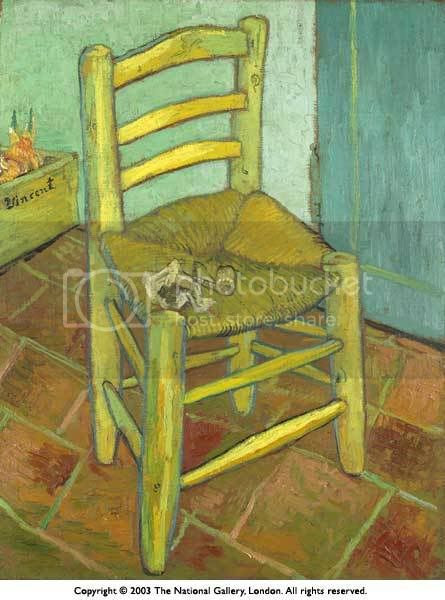 Van Gogh - Yellow Chair