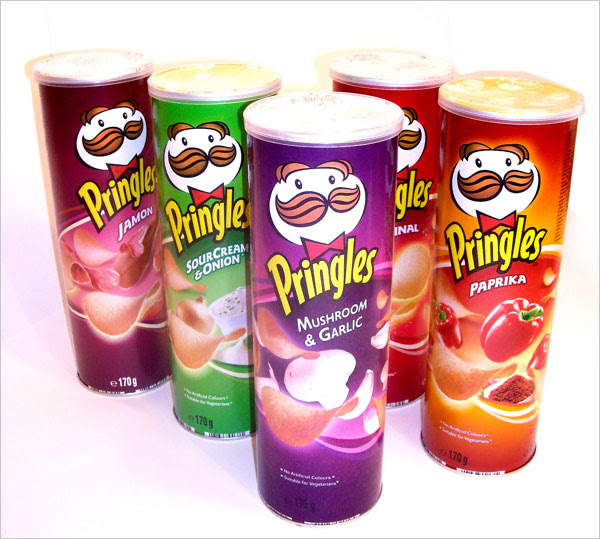 Pringles Packaging design 30+ Crispy Potato Chips Packaging Design Ideas