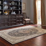 """Thomasville Marketplace Timeless Classic Rug Collection - Willington Black - 7'10"""" x 10'"""