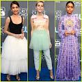 Sarah Hyland, Kiernan Shipka, & Yara Shahidi Stun at Critics' Choice Awards 2018 Sarah Hyland , Kiernan...