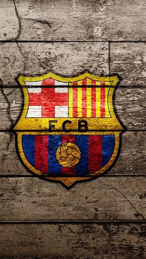 barcelona logo iphone hd wallpaper pixelstalknet