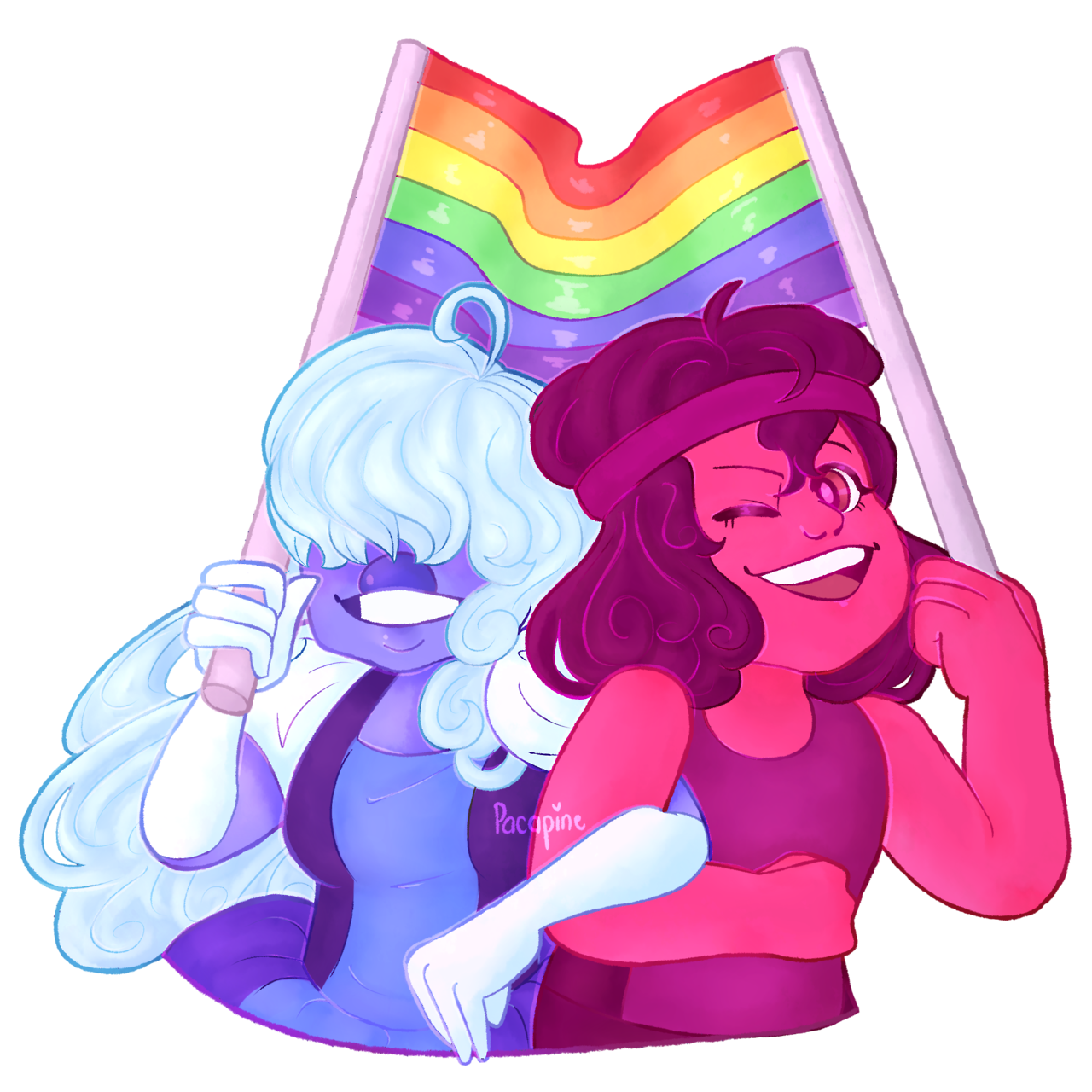 "Happy Pride Month ""speedpaint """