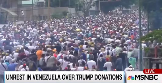 Maddow gets it entirely wrong on Venezuela