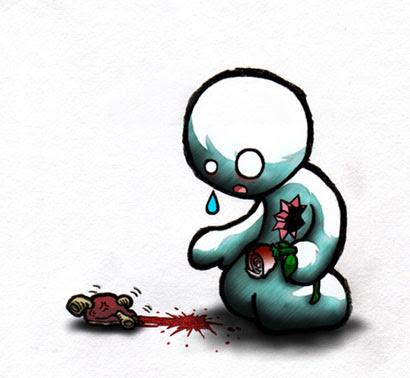 Imágenes Artísticas De Corazones Rotos Para Compartir En Facebook