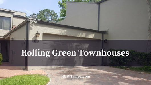 Carrollwood Golf Course Townhomes  - Rolling Green Townhouses