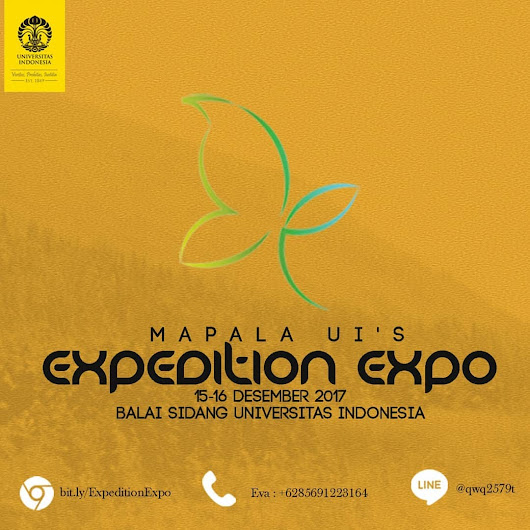 Mapala UI Expedition Expo 2017 di Balai Sidang UI - Info Event