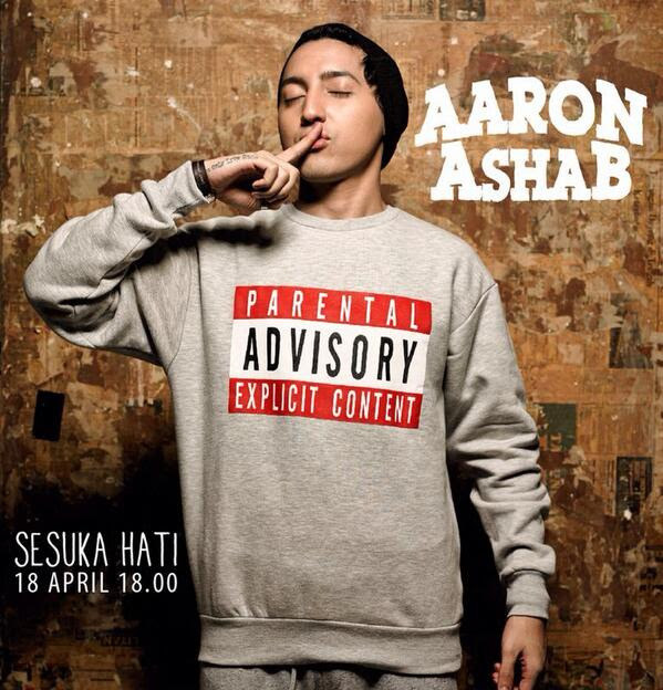 Download Lagu Aaron Ashab – Sesuka Hati Mp3