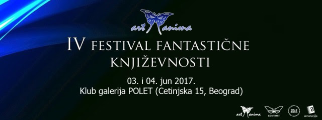 "Program IV Festivala fantastične književnosti ""Art-Anima"""