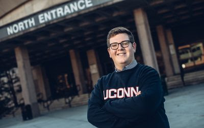 Three Majors, World Travel, and Research Highlight Senior Andrew Carroll's UConn Years