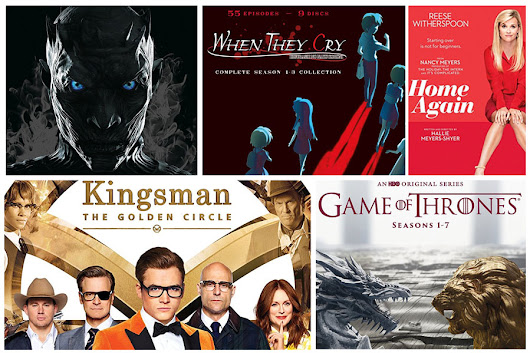 New on Blu-ray: Kingsman: The Golden Circle, Game of Thrones Season 7 and More! – HD Report