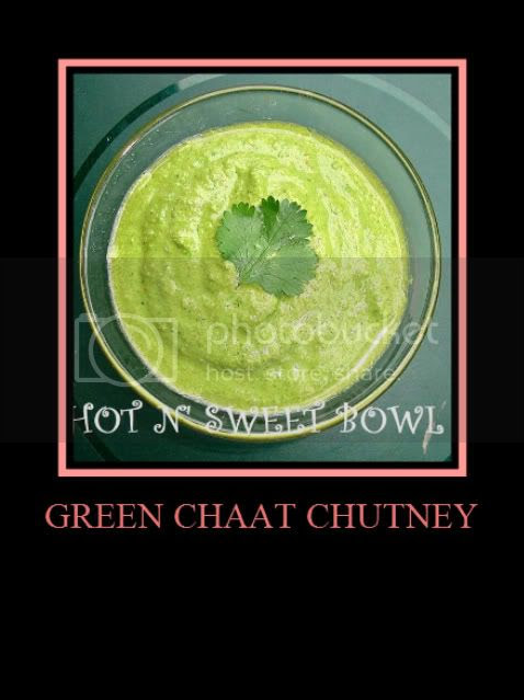 Green Chat Chutney