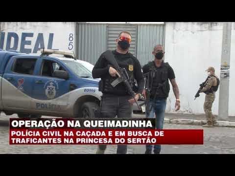 EXCLUSIVA - OPERAÇÃO POLICIAL NO COMBATE AO TRÁFICO DE  DROGAS