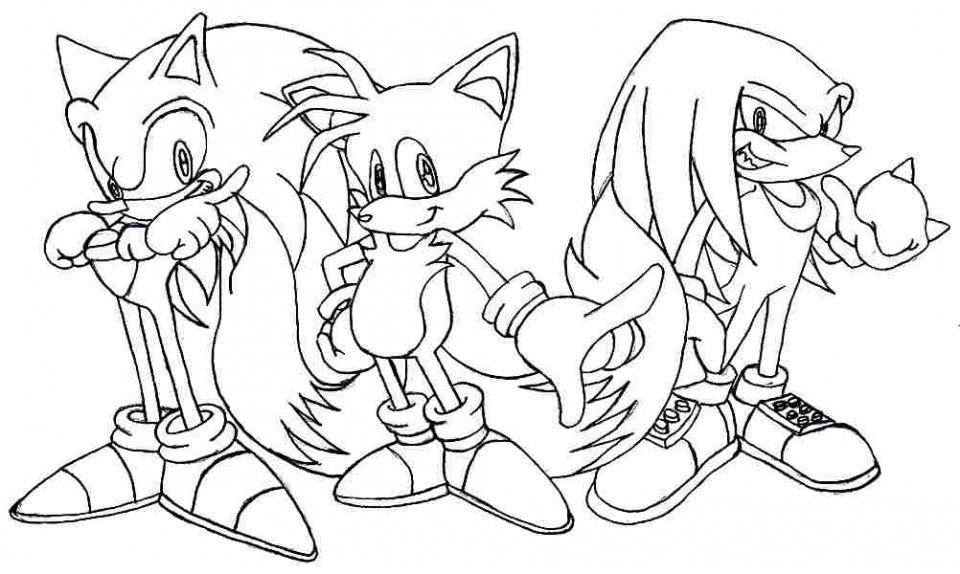 20+ Free Printable Sonic the Hedgehog Coloring Pages ...