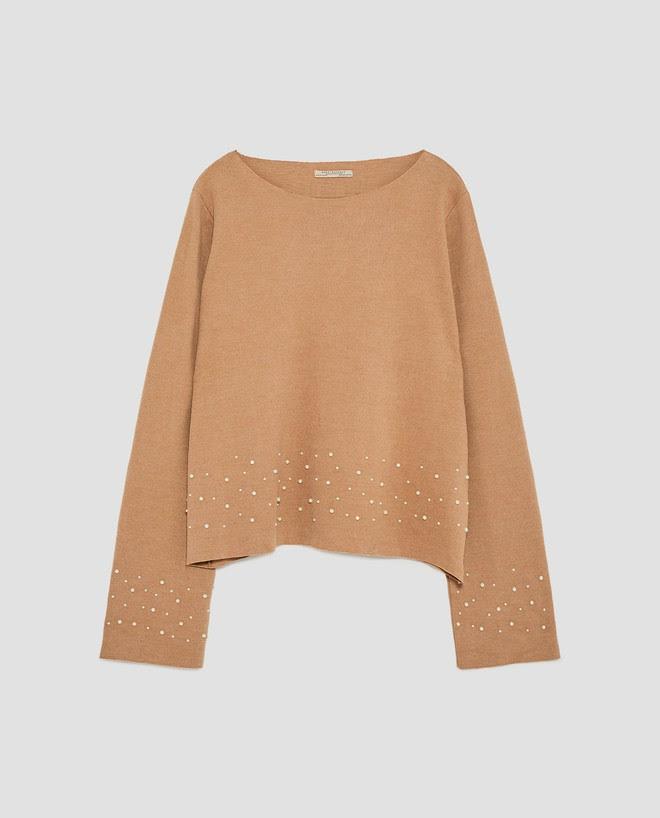 Zara sale 50% và đây là những mẫu áo len, áo nỉ mà các nàng phải vợt ngay kẻo hết size - Ảnh 2.