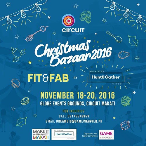 Do your Christmas shopping at Circuit Makati Christmas Bazaar (Nov. 18-20, 2016) - The Philippine Beat