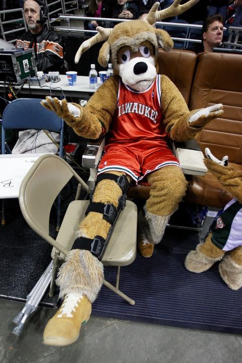 Bucks mascot