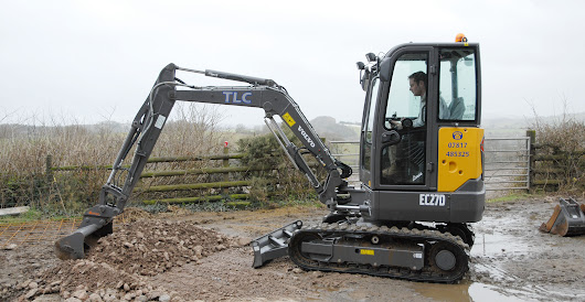 TLC Plant moves up a gear with a Volvo EC27D