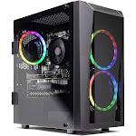 Skytech Blaze II Gaming Computer PC Desktop – Ryzen 5 2600 6-Core 3.4 GHz, Nvidia GeForce GTX 1660 6G, 500g Ssd, 8GB Ddr4, RGB