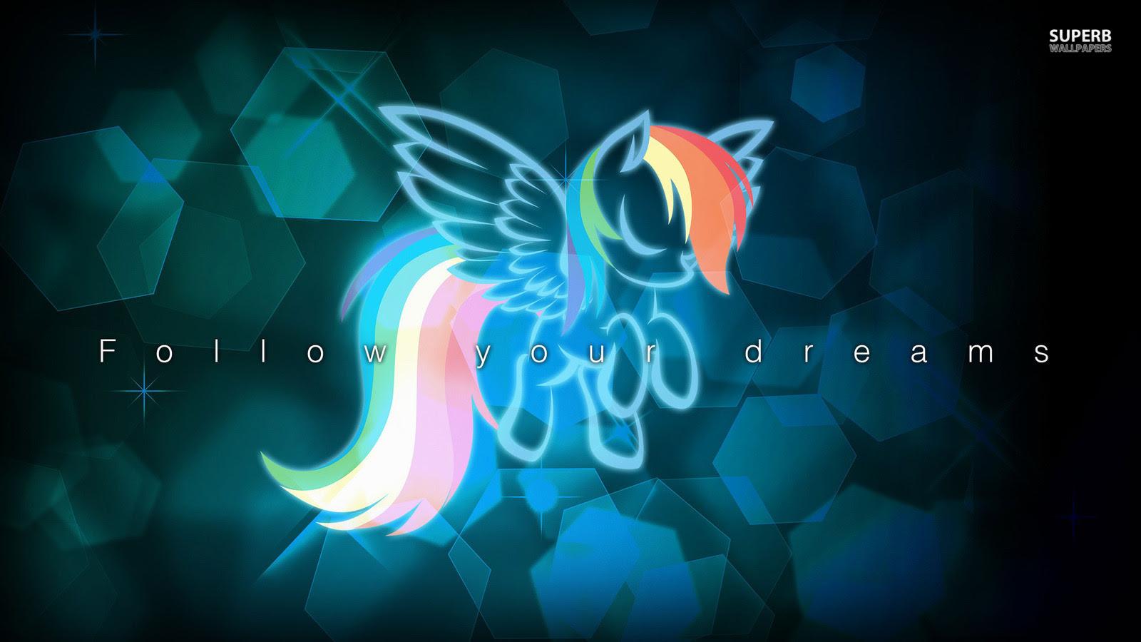 Rainbow Dash My Little Pony Friendship Is Magic Wallpaper