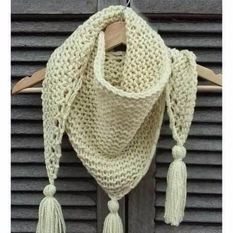 Jasmine Scarf Pattern Free Knitting Pattern