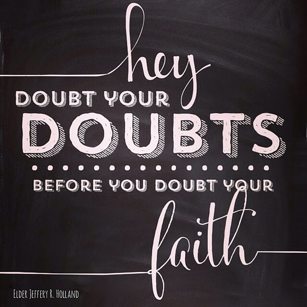 Quotes About Faith And Doubt 165 Quotes