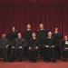 Members of the Supreme Court in 2010. The votes of five of the nine can decide a case, but only four need to be in favor of hearing a case for the court to take it. Choosing which cases to take is usually a very secret process, but sometimes there are clues.