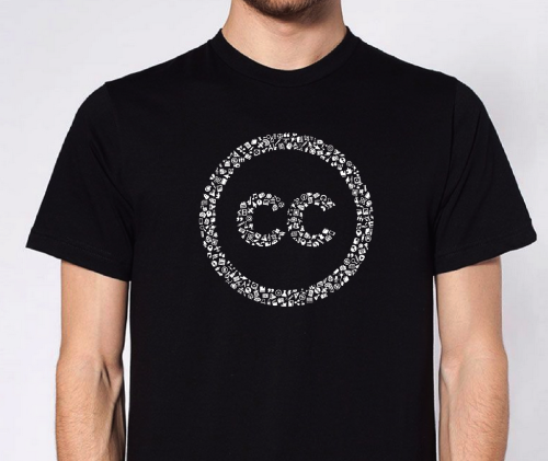 Celebrate Creative Commons with Noun Project's Special Edition Tee