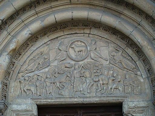 Isidoro Leon timpano puerta Cordero lou