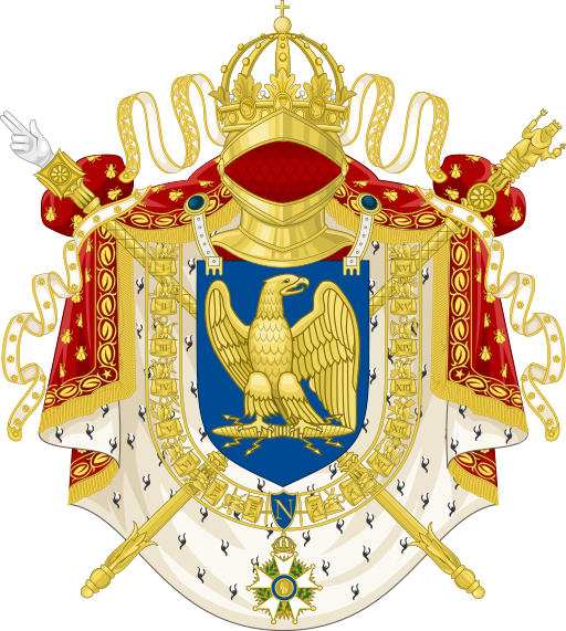 File:Imperial Coat of Arms of France (1804-1815).svg