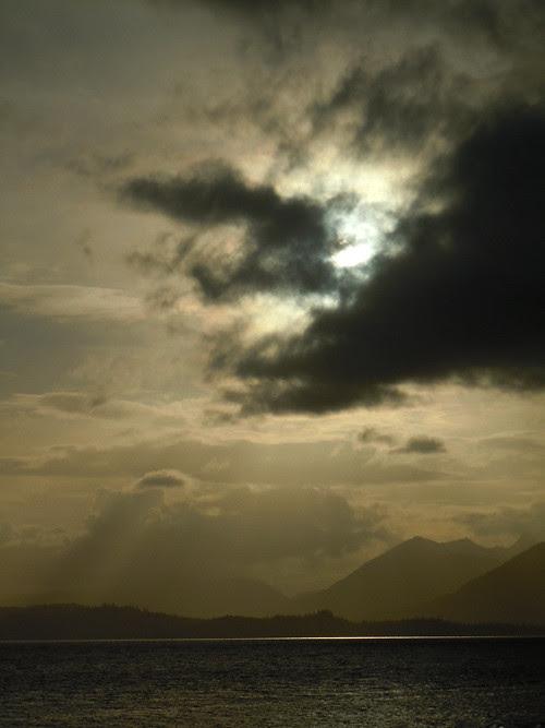 sunset, Kasaan Bay, Alaska