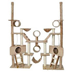 "Go Pet Club FC02 106"" Cat Tree Condo Furniture, Beige"